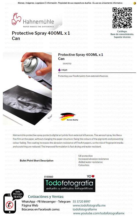 Hahnemuhle 10640702 - Spray Protector Para Fotografias 400ml