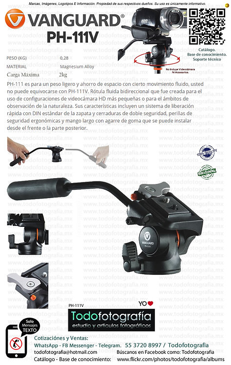 Vanguard PH-111V Cabezal Para Vídeo (PH-111V)