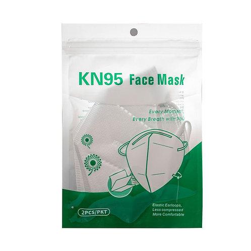 Cubrebocas KN95 10pzs. Respirador Certificación FDA / CE