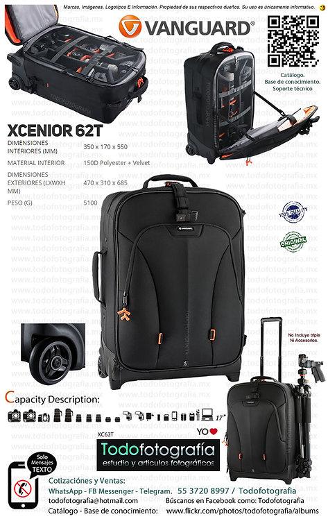 Vanguard XCENIOR 62T Maleta Fotográfica (XC62T)