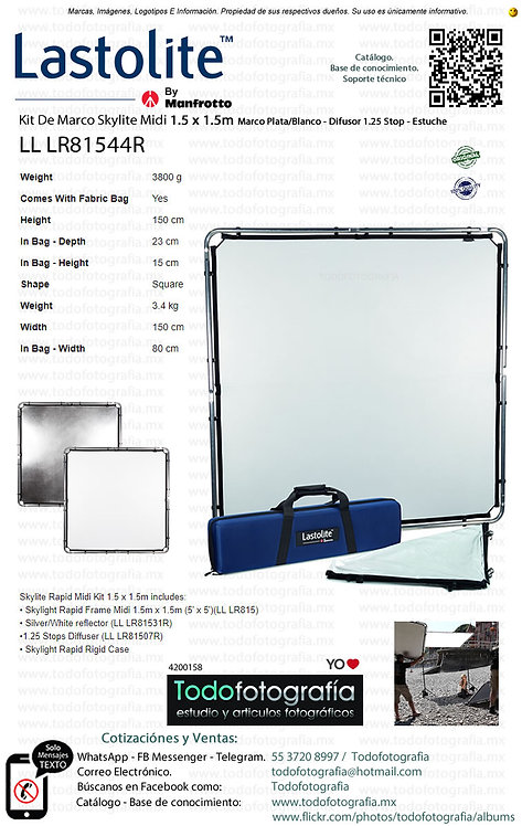 Lastolite LL LR81544R Kit De Marco Skylite Midi 1.5 x 1.5m (4200158)