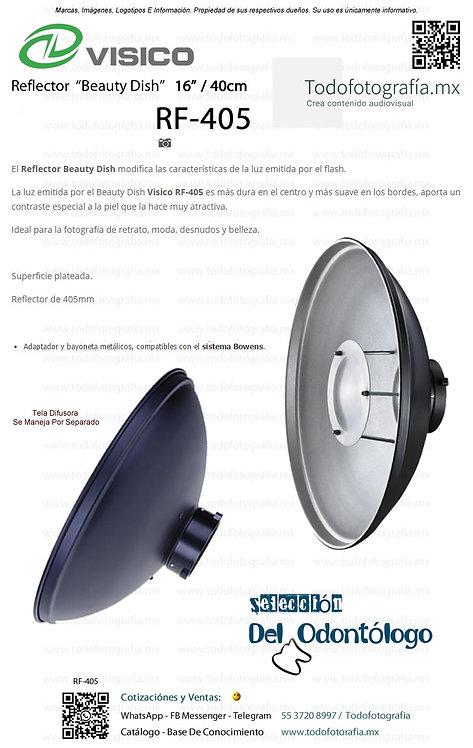 RF-405 Visico Beauty Dish Reflector Todofotografia