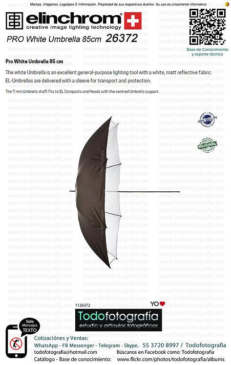 Elinchrom 26372 Sombrilla PRO Blanca 85cm (1126372)