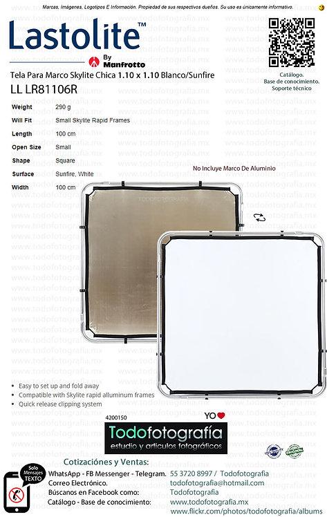 Lastolite LL LR81106R Tela Para Marco 1.10 x 1.10 Blanco-Sunfire (4200150)