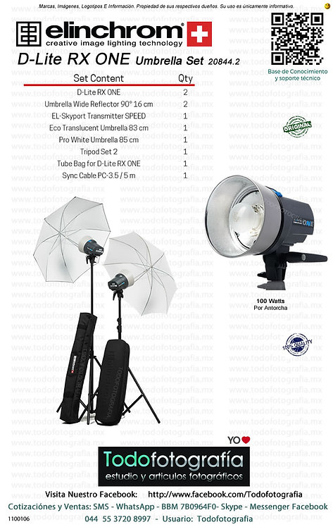 Elinchrom D-Lite RX ONE Umbrella Set 20844.2 (1100106)
