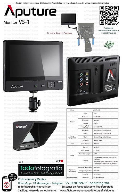 Aputure VS-1 Monitor Para Video 1920 x 1200