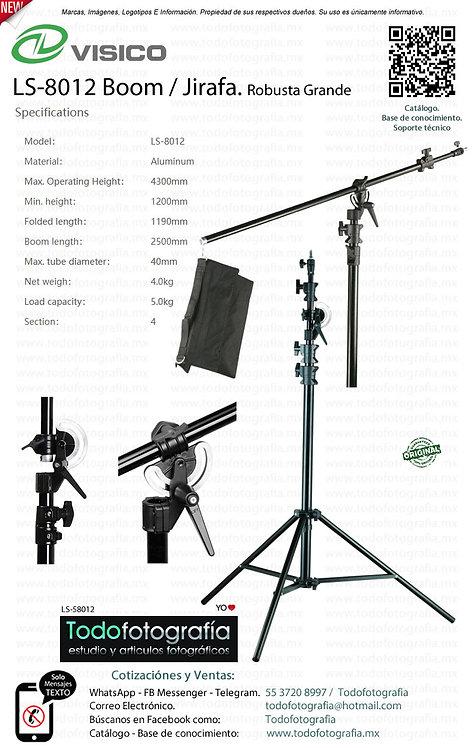 LS-8012 Visico - Boom Jirafa Robusta Grande Hasta 5kg
