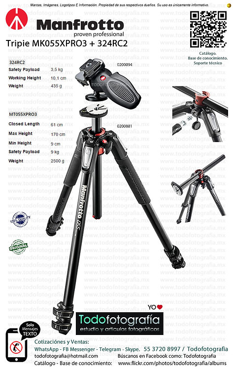 Manfrotto MK055XPRO3 324RC2 (0200881 - 0200094)