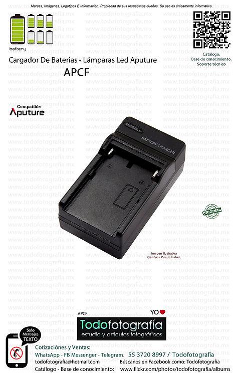 Aputure APCF Cargador De Baterías Para Lamparas Led Aputure (APCF)