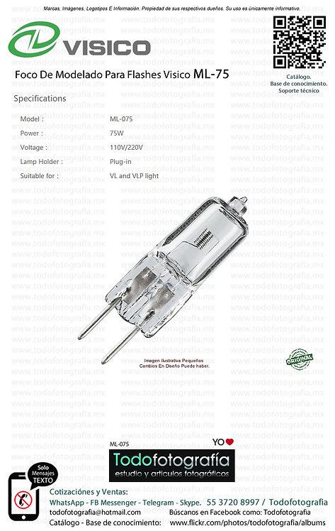 Visico ML 075 Foco De Modelado Para Flashes VISICO (ML-075)