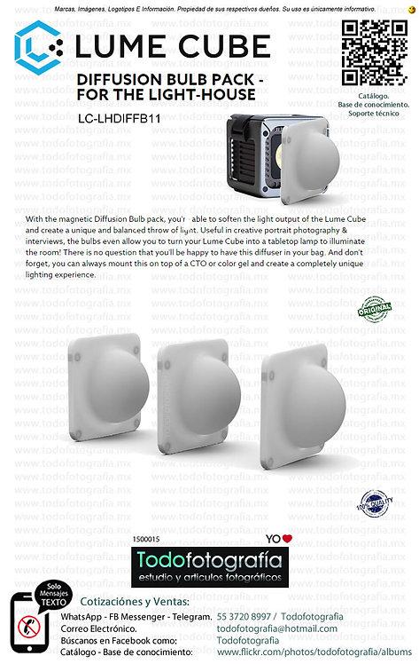 Lume Cube LC LHDIFFB11 Kit De Difusores De Luz (1500015)