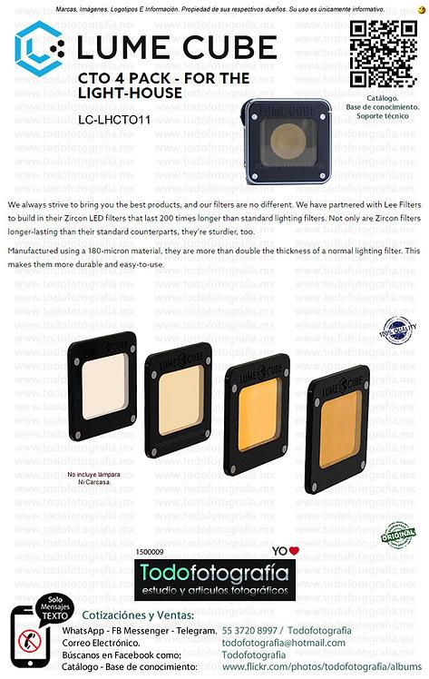 Lume Cube LC LHCT011 Gelpack Kit De Cuatro Geles Magnéticos (1500009)