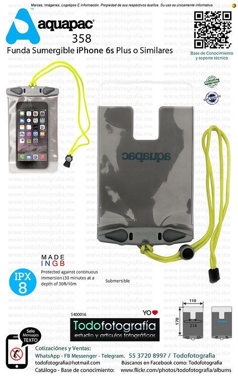 Acuapac 358 Funda Sumergible Para SmartPhones iPhone 6s Plus o Similar (5400016)