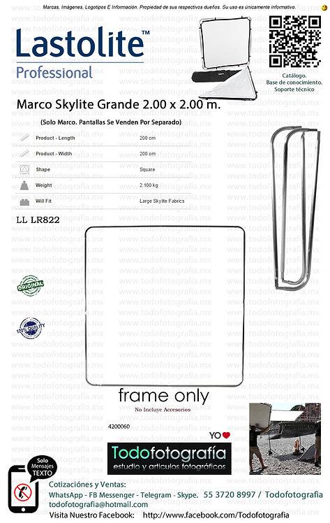Lastolite LL LR822 Marco Skylite 2.00 x 2.00 m (4200060)