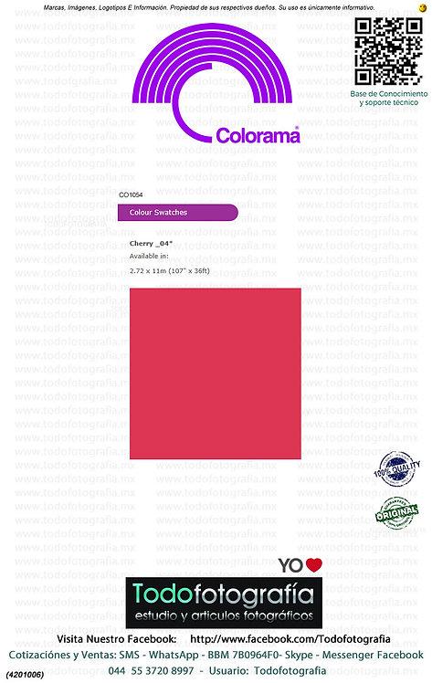 Colorama CO104 Cereza 2.72 x 11m (4201006)
