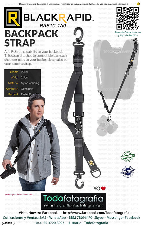 BlackRapid RAS1C-1A0 Correa Para Camara BackPack (4600031)