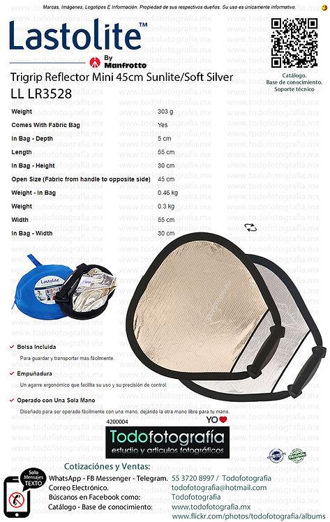 Lastolite LL LR3528 Trigrip Reflector Mini 45cm Sunlite-Soft Silver (4200004)