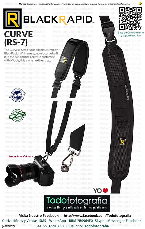 BlackRapid RS7 1BB Curve Correa Para Cámara (4600007)