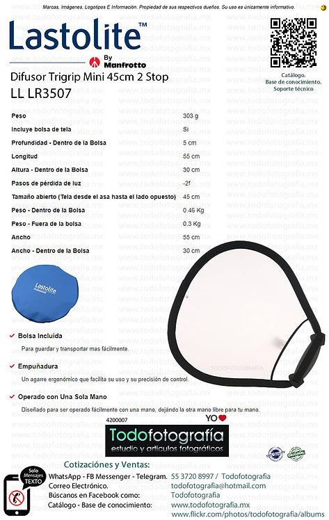 Lastolite LL LR3507 Difusor Trigrip Mini 45cm 2 Stop (4200007)