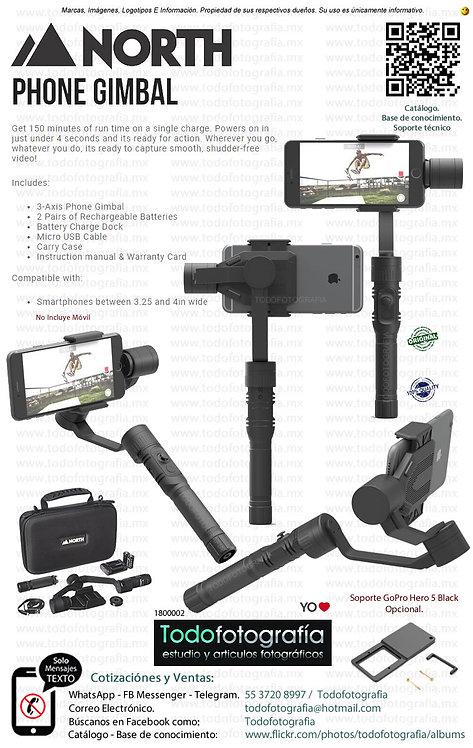 North Phone Gimbal Estabilizador De Vídeo Para Móvil (1800002)