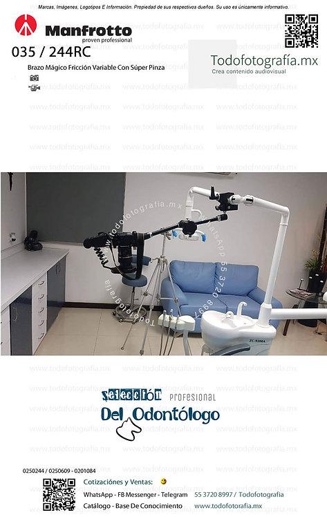 Sistema Soporte De Cámara En Unidades Dentales