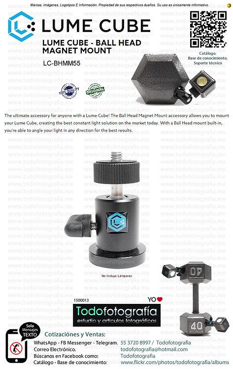 Lume Cube LC BHMM55 Cabezal Fotográfico Con Base Magnética