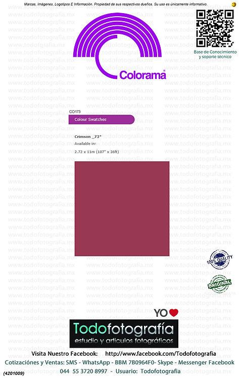 Colorama CO173 Carmesi 2.72 x 11m (4201009)