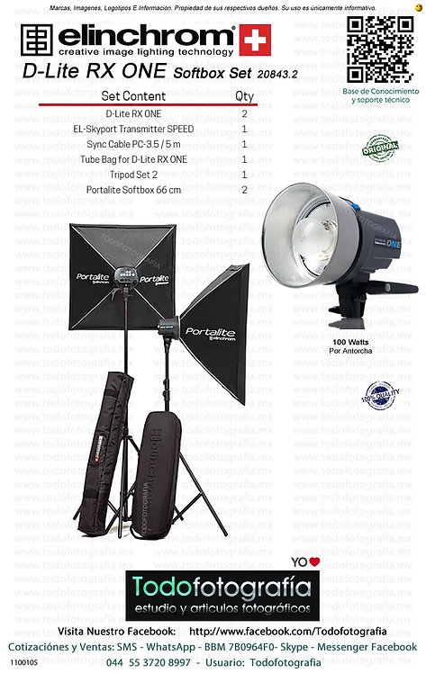 Elinchrom D-Lite RX ONE Set 20843.2 (1100105)