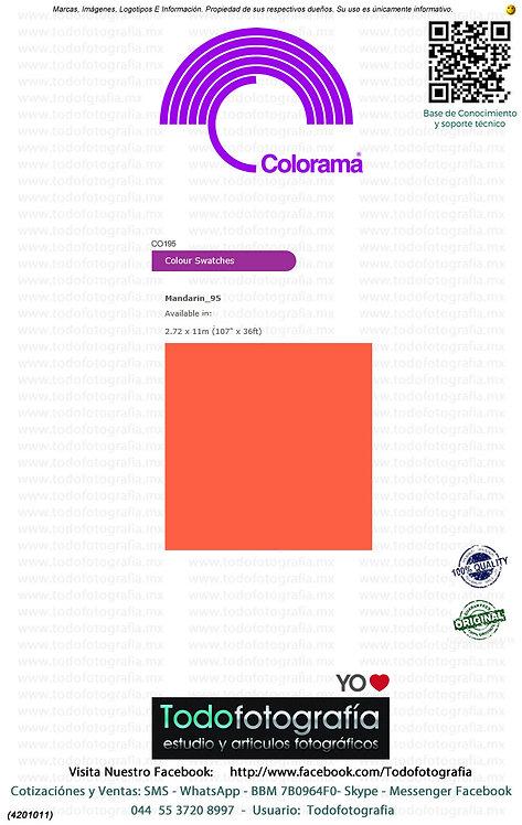 Colorama CO195 Mandarina 2.72 x 11m (4201011)