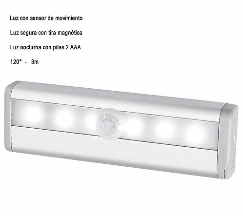 Lampara Led Con Sensor De Movimiento