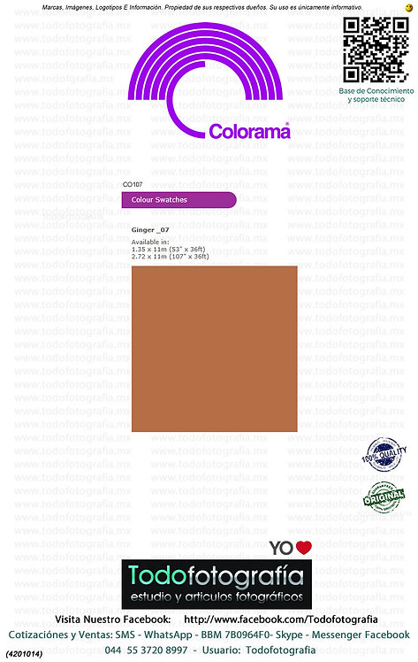 Colorama CO107 Jenjibre 2.72 x 11m (4201014)