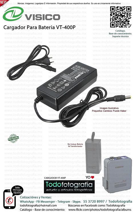 VISICO CARGADOR VT-400P  - Cargador De Batería