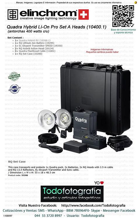 Elinchrom Ranger Quadra Hybrid Li-On Standard Set Flash 10400.1 (1100097)