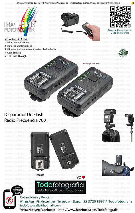 Kaiser Fototechnik 7001 Disparador De Flash (1200091)