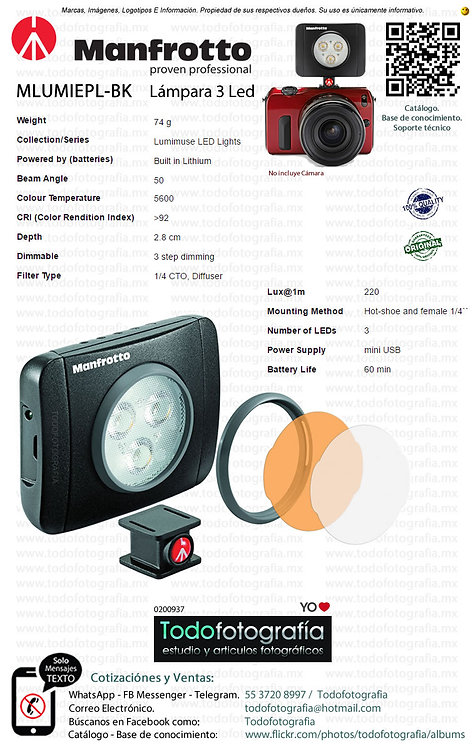 Manfrotto MLUMIEPL BK (0200937)