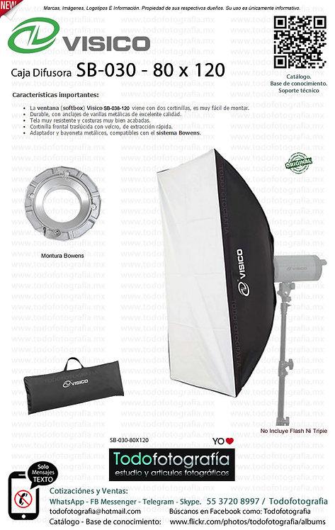 Visico SB 030 Caja Difusora 80 x 120 (SB-030-80X120)
