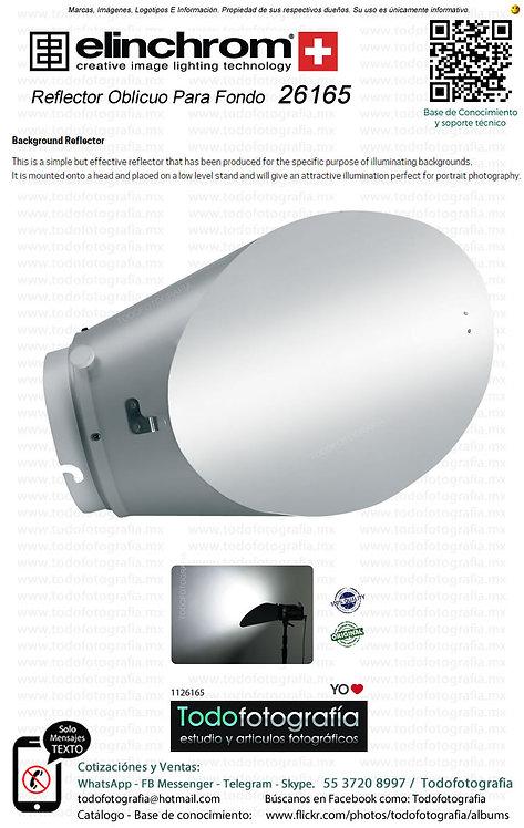 Elinchrom 26165 Reflector Oblicuo Para Fondo (1126165)