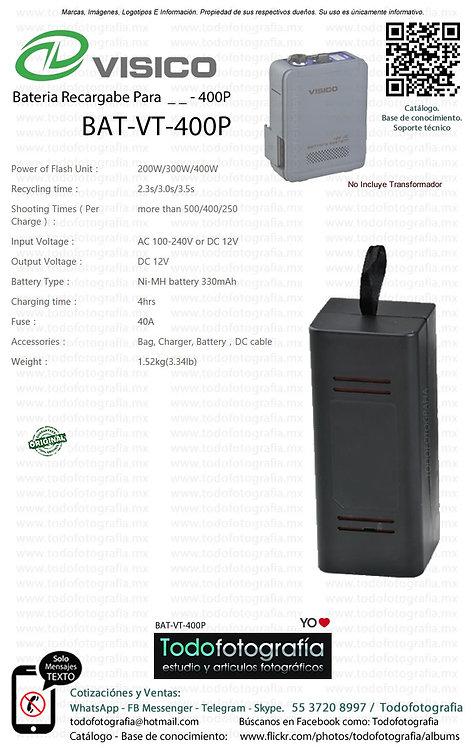Visico BAT VT 400P Batería Recargable Para VT 400P (BAT-VT-400P)