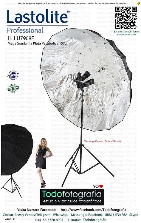 Lastolite LL LU7908F Mega Sombrilla Plata Parabólica 157cm (4200122)