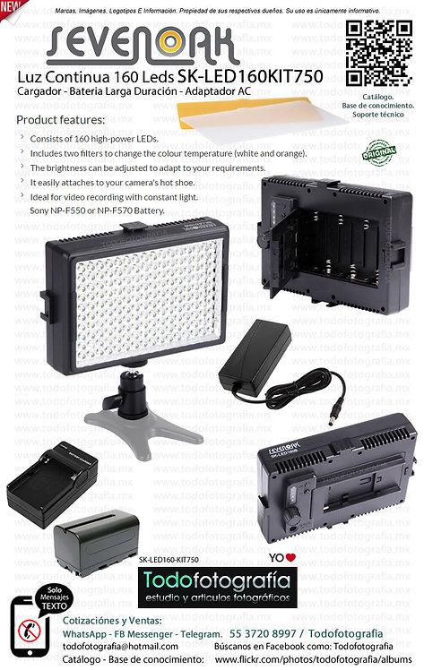 Sevenoak SK LED160KIT750 (SK-LED160-KIT750)