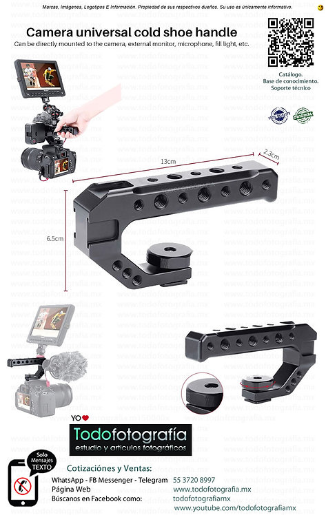 Camera Universal Cold Shoe Handle