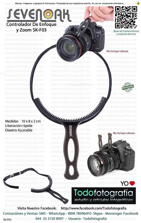 Sevenoak SK-F03 Controlador Manual De Enfoque y Zoom (SK-F03)