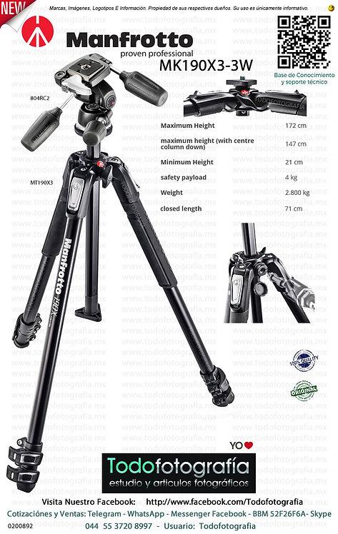 Manfrotto MK190X3-3W (0200892)