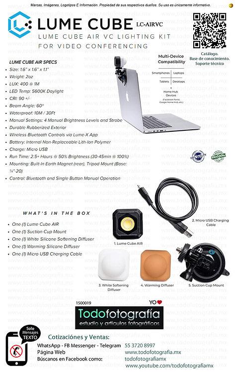 Lume Cube LC-AIRVC - Kit De Iluminación Para Videoconferencias, Video (1500019)