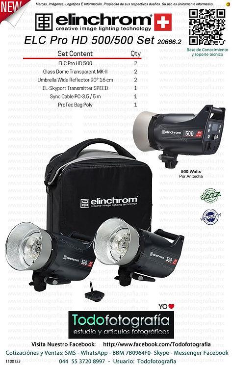 Elinchrom ELC Pro HD 500 500 Set 20666.2 (1100123)