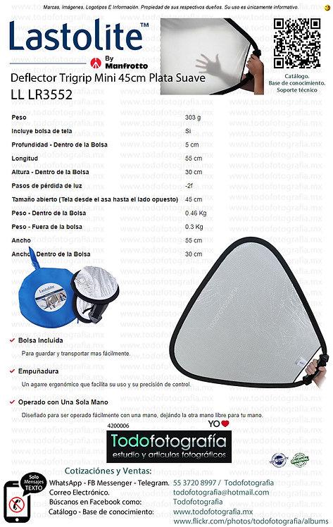 Lastolite LL LR3552 Deflector Trigrip Mini 45cm Plata Suave (4200006)