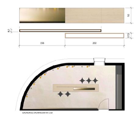 Bender Showroom Plan