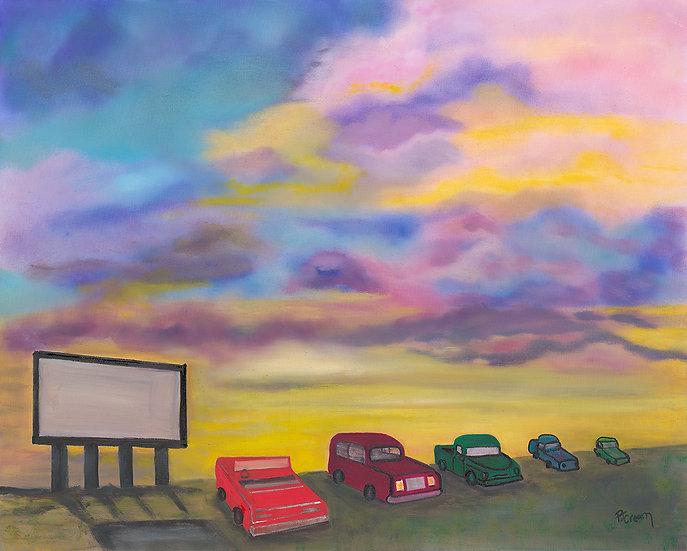 Drive-in Date Night by Patricia Cream