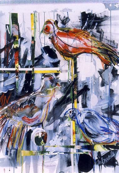 Aviary by Marcella Boushelle