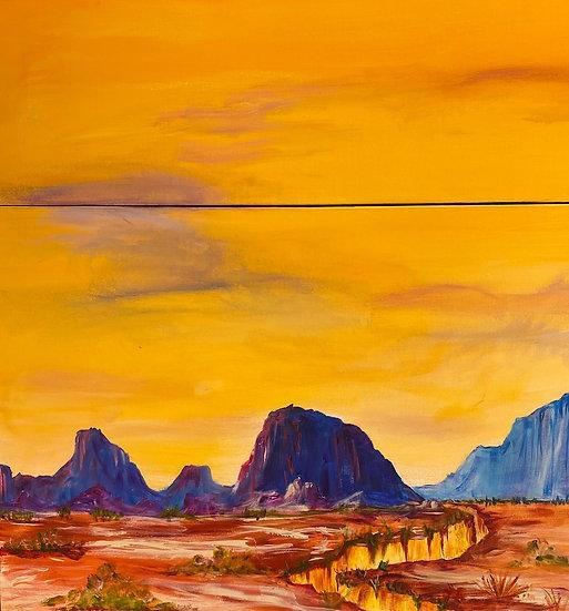 Canyon Sunset by Nina Adkins
